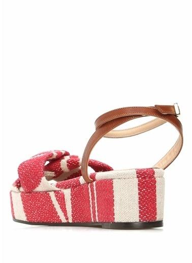 Castaner Dolgu Topuklu Sandalet Fuşya